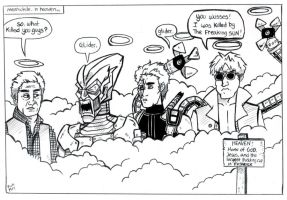 Spiderman: Meanwhile In Heaven by TheMonkeyYOUWant