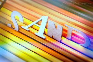 colourful words. Sand by blackflycat
