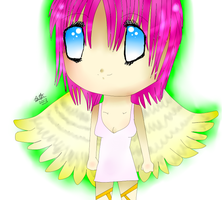 Chibi Angel by leafyloo