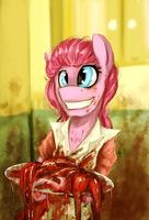 Don't mess with retro Pinkie by Iceminth