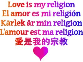 Love is My Religion by Sheik360