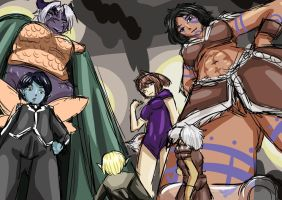 Size and Sorcery : The Accidental Shrinking by notETZ