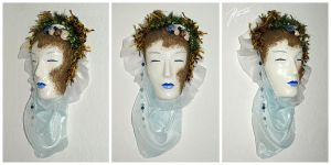 Water Spirit Mask by janey-in-a-bottle
