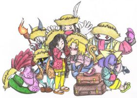 Final Fantasy IX Luau by Kahlan4