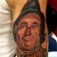 Scarecrow tattoo by Mikeashworthtattoos