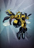 Beast Wars Bumblebee by weremole