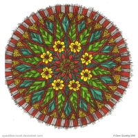 Spring Time Mandala by Quaddles-Roost
