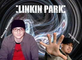 LINKIN PARK Mike and Chester by ashleywhttkr