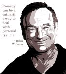 Words of wisdom by Robin Williams by dmax666
