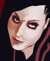 Amy Lee-realism practice by TheDeathEmbodied