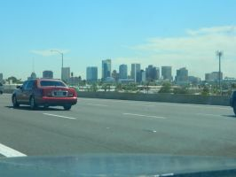 Phoenix Skyline by CheshireGrrrl