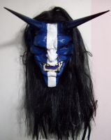 Oni Mask Blue by mostlymade