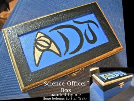 Science Officer Box by ShellMinded
