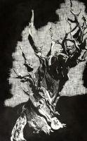 old tree by Renazle