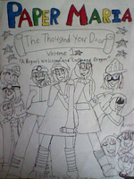 PMTTYD-Cover #1 inked by Remy-Productions