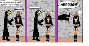 Night Kitten Meets Dracula Part 3 redone by Walnutwilly