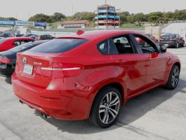 hot rod CUV SUV BMW X6 M by Partywave