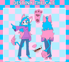 :REF: Destiny the Cat by Reptonic