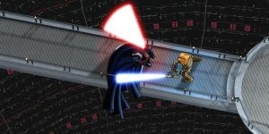 The Duel in the Reactor Core by adrman