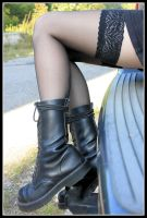 Mel's legs by Tiger--photography