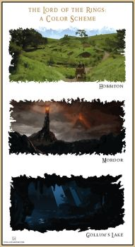 The Lord of the Rings: A Color Scheme by stvn-h