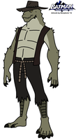 BDD: Killer Croc 2012 by HewyToonmore