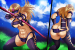 Mildred Commission 1 Coloring by Planeptune
