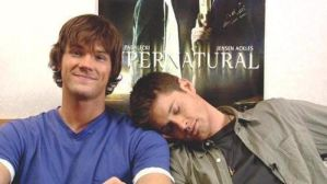 Jared and Jensen SQUEE by Hasana-chan