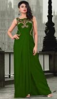Green Evening Gowns by NINAFORD