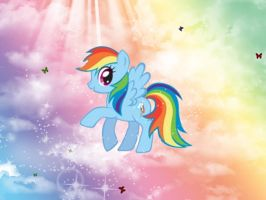 Rainbow Dash Wallpaper by Brightshadow813