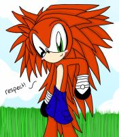 Strider the Porcupine by shadow2rulez