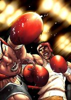 Boxing game cover by JPRcolor