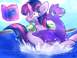 Now I Really Wish That I Knew How To Swim by BritishStarr