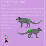 Eon Reference Sheet 2012 by EonShinato