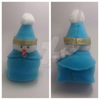 Frozen Themed Ornament by Decepti-Gal2313