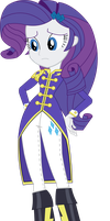 Equestria Girls Rarity (Wonderbolt Sargent Attire) by SketchMCreations