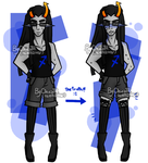 - Homestuck: Equius' secret. - by ChicaTH