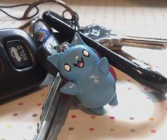 Catbug Keychain - Bravest Warriors by LadyMudkip