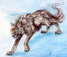 Wolfie Wolf by Lucky978