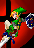 Link Hero of Hyrule -Request- by Darkflame411