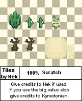 Desert tiles by Hek-el-grande