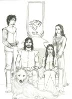 GH: House Stark of Winterfell by nanakohojo