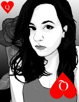 Queen of Hearts Deviant ID by floweringgarlic