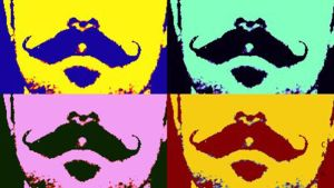 Pop Mustache by Caen-N