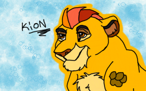 Kion Simba's Son by Stormchaser-Lioness