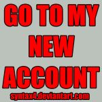 STFU NEW ACCOUNT by PaperMachete