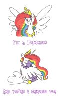I'm a Princess by Ghost-Peacock