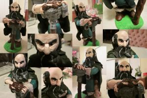 Dwalin-The Hobbit (Clay) by Kooky-Crumbs