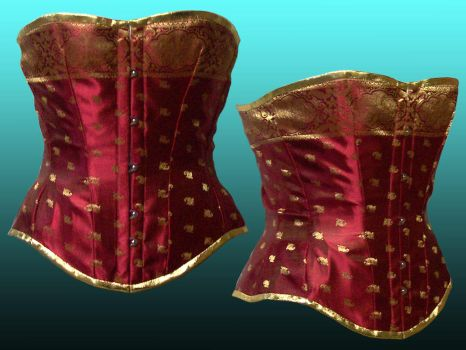 Rubies and Gold by Janes-Wardrobe