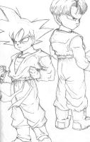Goten And Trunks by Quatre4